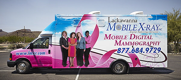 Mobile Mammography for PA, WV, MD, NJ and DE